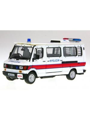 1:43 合金汽車模型Benz 310香港警車