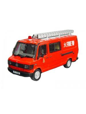 1:43 合金汽車模型 Benz 310 香港消防車