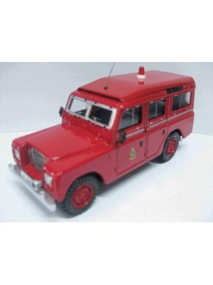 """1:36合金汽車模型 Land Rover 109"""" 香港消防車 CP82706 5055286827068"""