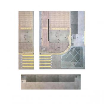 1:64 街道 + 馬路 場景 套裝