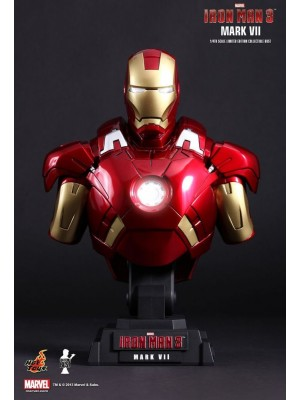 HTB13 1/4 Scale Iron Man 3 Iron Man Mark VII  Bust 4897011175065