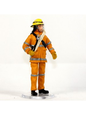 香港合金模型系列 HH018 香港消防處 - 山火消防員Hill Fire Fighter (黃)