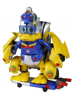 TRANSFORMERS DISNEY LABEL 變型金剛唐老鴨Donald Duck
