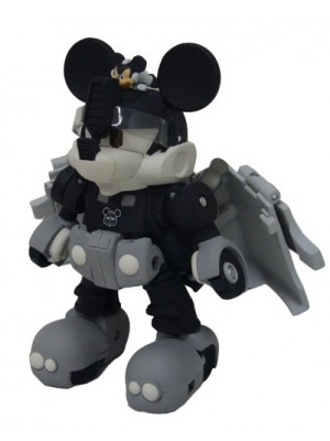 TRANSFORMER DISNEY LABEL 米奇變形金剛 MICKEY MOUSE 黑白色