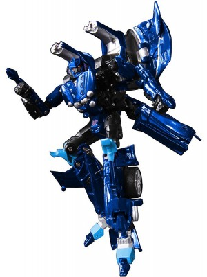 """Transformers Takara Alternity A04 Okamora Orochi Thundercracker Blue """