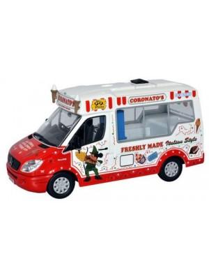 WM003 Coronatos Whitby Mondial Ice Cream Van - 1:43 Scale